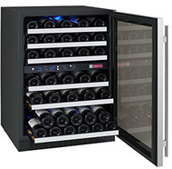 Allavino FlexCount VSWR56-2SSRN 56-Bottle Dual Zone Built-In Wine Refrigerator