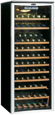 Danby DWC612BLP wine cooler