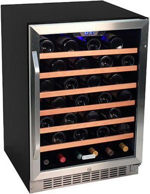 EdgeStar 53 Bottle Built-In Wine Refrigerator