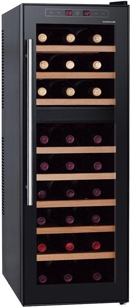 HomeImage HI-27C 27 Bottle Dual Zone Thermoelectric Wine Cooler
