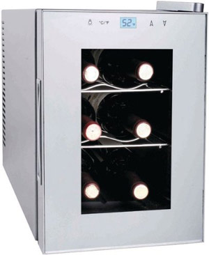 Haier HVTM06ABS 6 Bottle Wine Cooler