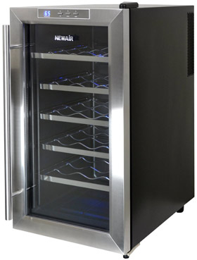 NewAir Stainless Steel Wine Cooler