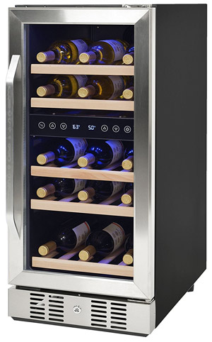 NewAir AWR-290DB 29-Bottle Compressor Wine Cooler