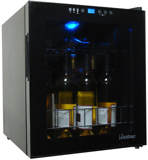 Vinotemp VT-15TS 15 Bottle Wine Cooler