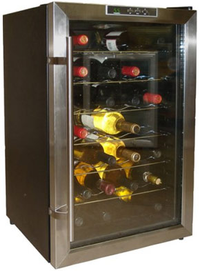 Vinotemp VT-28TEDS 28 bottle wine cooler