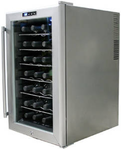 whynter 28 bottle wc28s sno wine cooler review