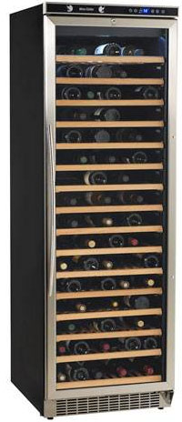 Avanti WCR682SS2 166 Bottle Wine Fridge with Stainless Steel Framed Door