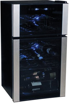 Koolatron Dual Zone Wine Cellar